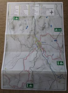Kingfield Maine Map.Trail Information Town Of Kingfield Maine
